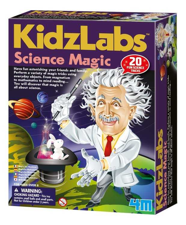 B0013NYVSU - 4M Science Magic Kit