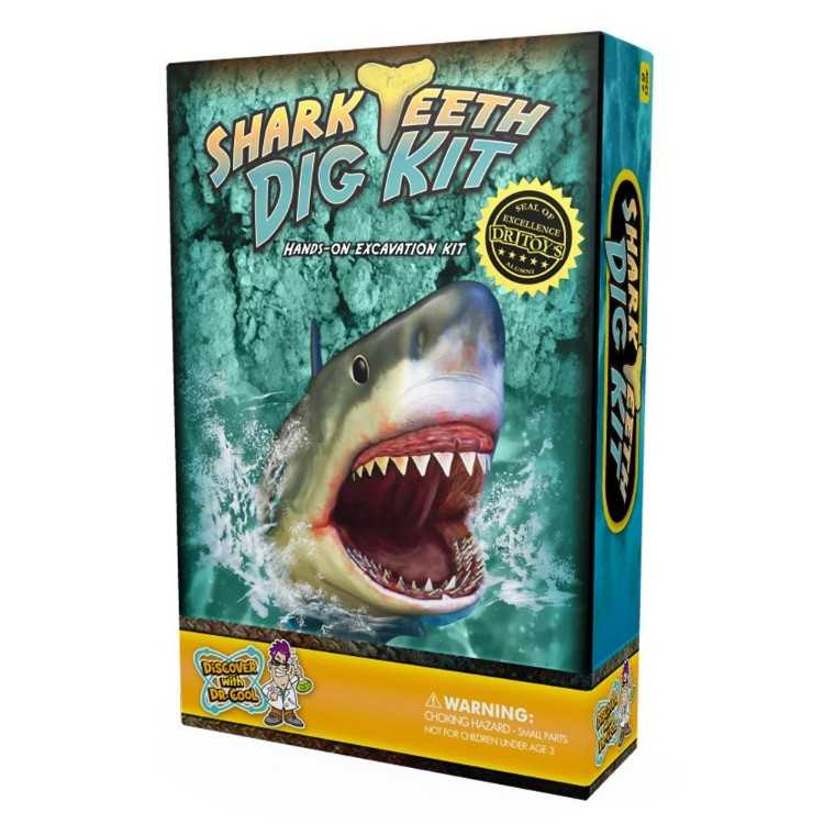 B0093WC4BY - Shark Tooth Dig Kit