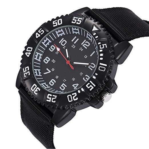 B01D4N66UC - Military Water Resistant Watch