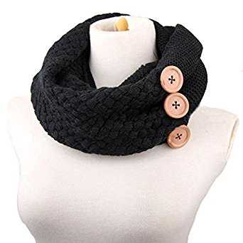 B0183CZ1EG - Winter Infinity Circle Scarf