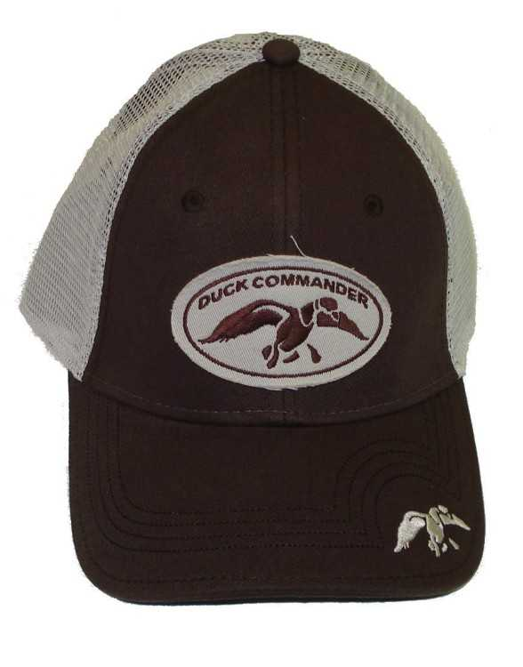 B006HJQBGA - Duck Commander Brown Mesh Cap